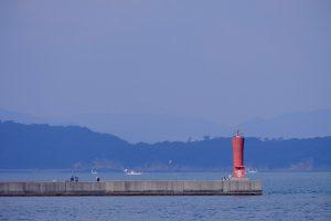加太港 灯台