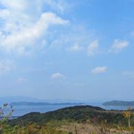 コスモパーク加太から海を望む